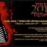 Live Jazz and Open Mic Extravaganza