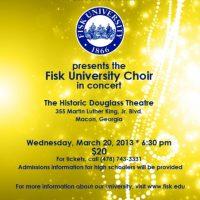 Fisk University Choir In Concert