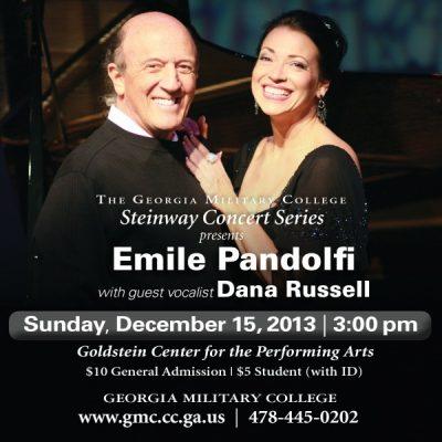The Georgia Military College Steinway Concert Series presents Emile Pandolfi