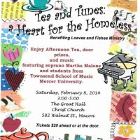 Tea and Tunes: a Heart for the Homeless