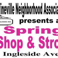 Vineville Neighborhood Association Spring Shop & Stroll