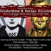 Celebrities and Serial Killers Art Show