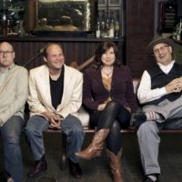The Helen Highwater String band at Juliette Opry