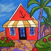 Beach Cottage-Open Painting Party