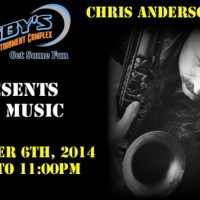 Live Music with Chris Anderson
