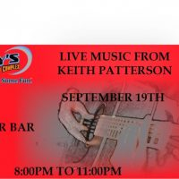 Live Music with Keith Patterson