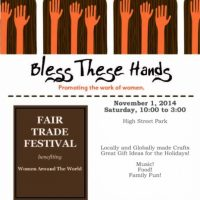 Bless These Hands Fair Trade Festival