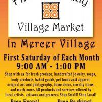First Saturday Village Market