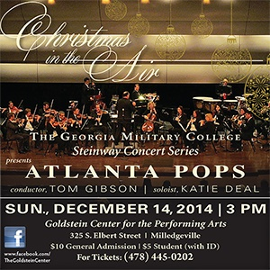 """SOLD OUT - The Atlanta Pops """"Christmas in the Air"""" featuring soloist Katie Deal"""