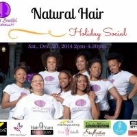 Natural Hair Holiday Social