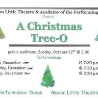 """""""A Christmas Tree-O"""""""