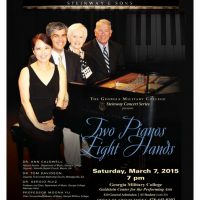 "GMC Steinway Concert Series Presents:  ""Two Pianos, Eight Hands"""