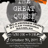 The Great Quest: A Halloween Scavenger Hunt