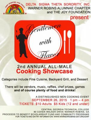 Gentlemen with Flavor All-Male Culinary Showcase
