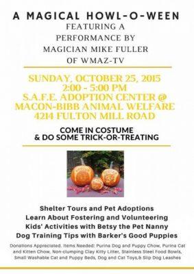 A Magical Howl-O-Ween presented by SAFE Adoption Center | Macon365