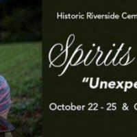 """Spirits In October"" Closing Week"