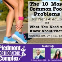 Free Seminar: Treating the Top 10 Foot Issues for Kids and Adults