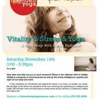 Vitality & Stress & Yoga