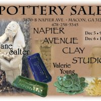 Jane Salter & Valerie Young's Annual Pottery Sale