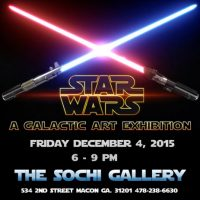 Star Wars, A Galactic Art Exhibition