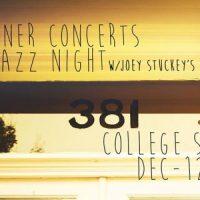 Jazz Night w/ Joey Stuckey's Band