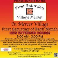 First Saturday Village Market