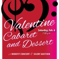 Valentine's Cabaret & Dessert A Benefit Concert and Silent Auction