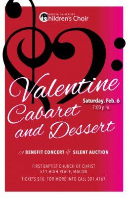 Valentine's Cabaret & Dessert A Benefit Concert and Silent Auction
