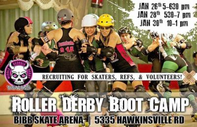 MGDD Roller Derby Boot Camp