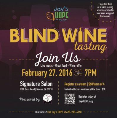 Blind Wine Tasting Presented By Jays HOPE Foundation