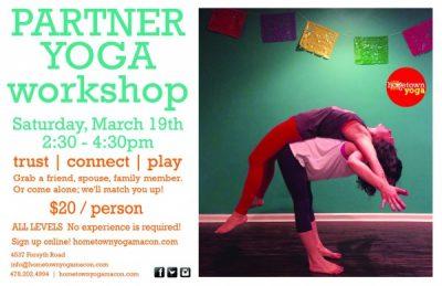 Partner Yoga Workshop presented by Hometown Yoga | Macon365