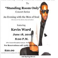 """Standing Room Only"" Concert Series, An Evening with the Men of Soul freaturing Kevin Ward"