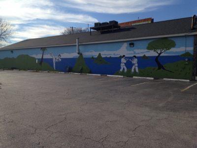 Karate Mural