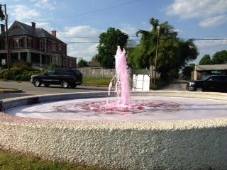 Fountain at Fountain Car Wash