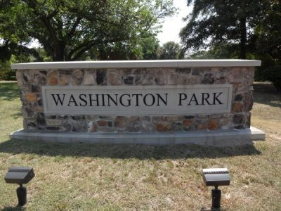 Washington Park Water Features
