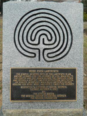 Rose Park Labyrinth