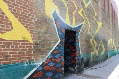 The Rookery Alleyway Mural