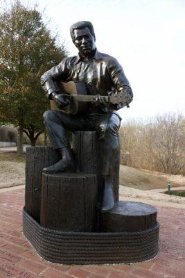 Otis Redding Sculpture