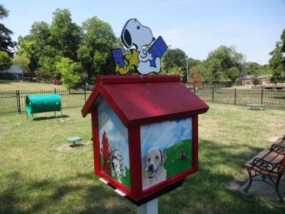 Little Libraries - Macon Dog Park