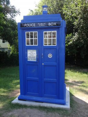 Little Libraries - Tardis
